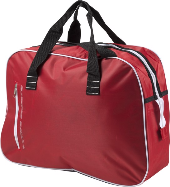 Polyester sports bag - Red