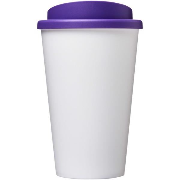 Americano® Vaso térmico de 350 ml - Blanco / Morado