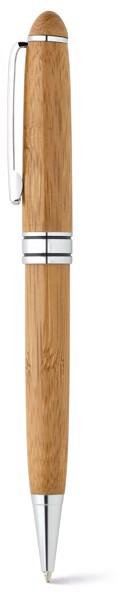 LUANDA. Roller pen and ball pen set in bamboo