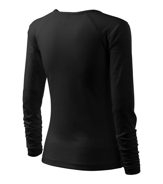 T-shirt women's Malfini Elegance - Black / 2XL
