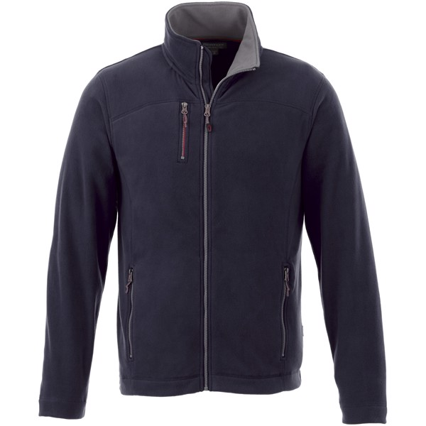 Pitch microfleece jacket - Navy / XS