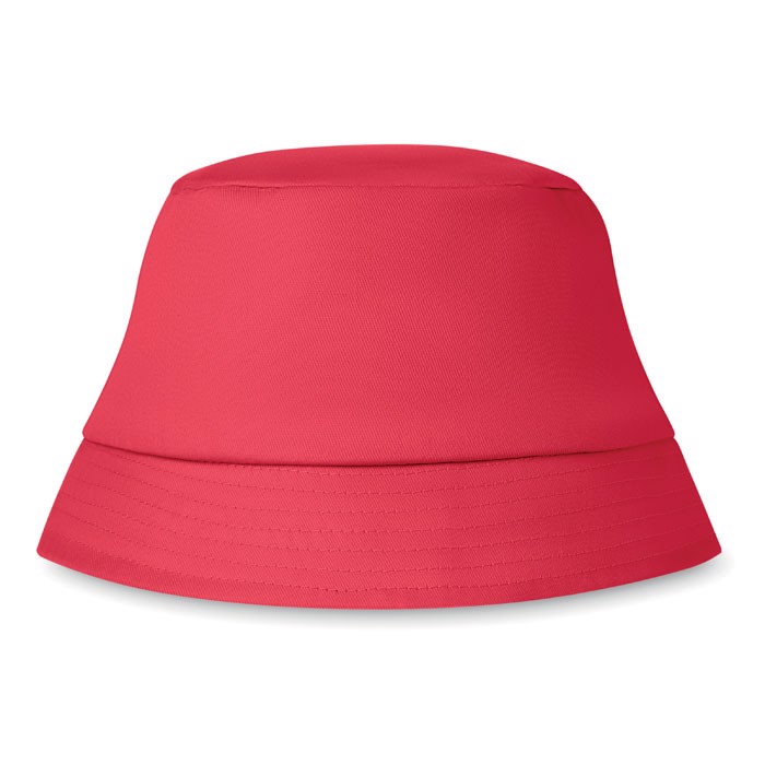 Kapelusz plażowy 160 gr/m² Bilgola - czerwony