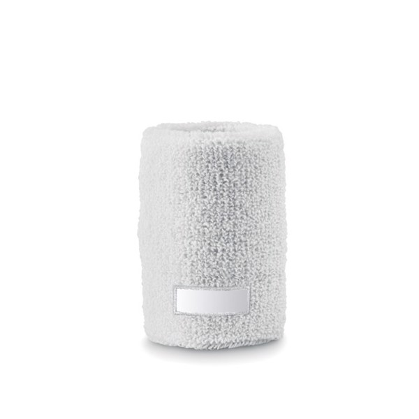 Sweat wristband Guaiband - White