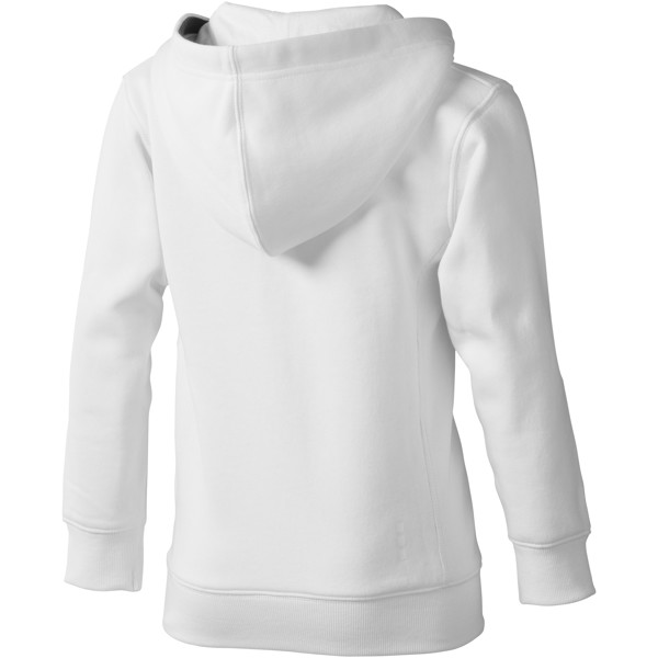 Arora kids full zip hoodie - White / 104