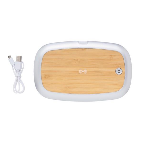 UV-C sterilizační box s bezdrátovým nabíjením 5W Rena