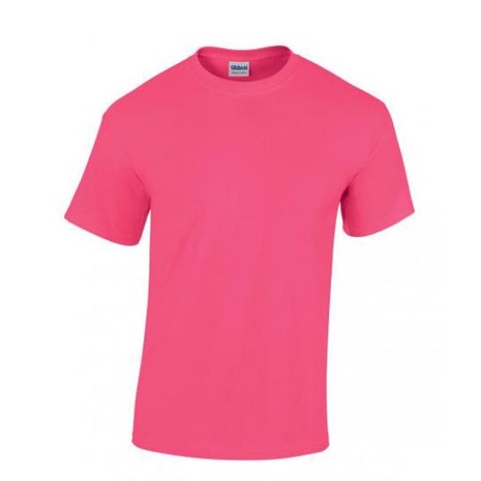 Heavy t-shirt 185 g/m² Heavy T-Shirt 5000 - Safety Pink / XL