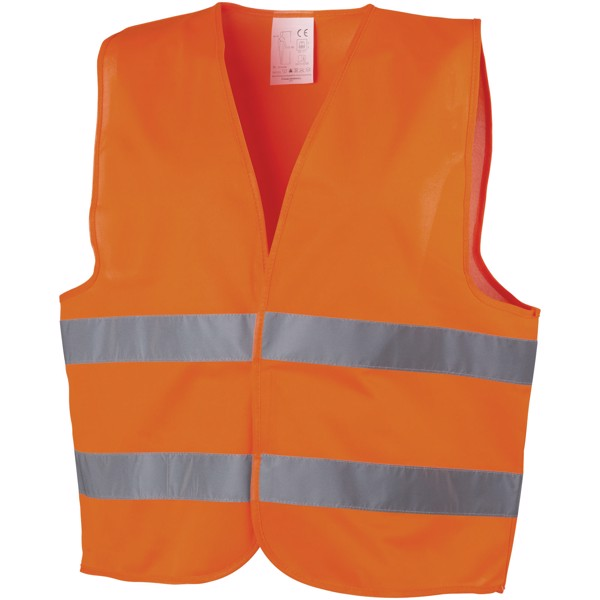 Kamizelka bezpieczeństwa See-me do użytku profesjonalnego - Pomarańczowy