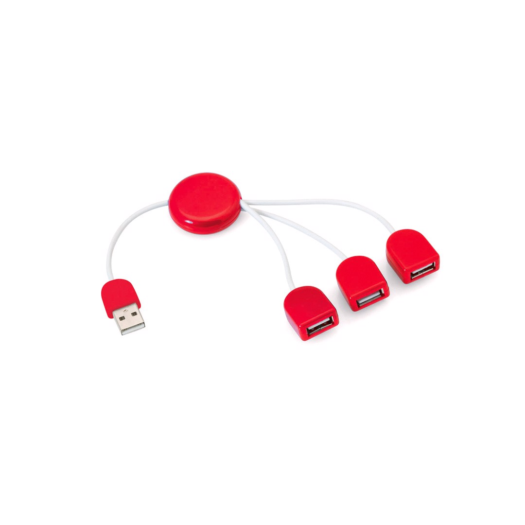 Porta USB Pod - Vermelho