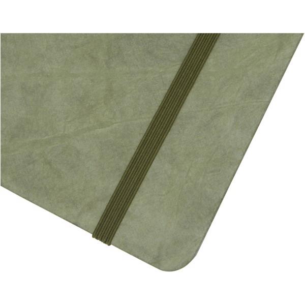 Breccia A5 poznámkový blok s kamenným papírem - Zelená