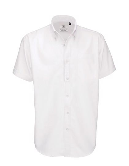 Shirt Oxford Short Sleeve /Men - White / M