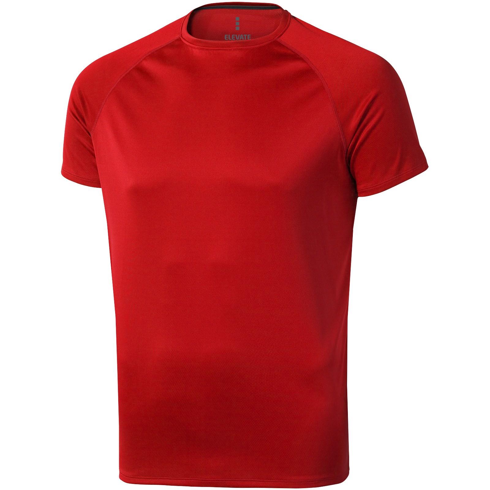 Niagara short sleeve men's cool fit t-shirt - Red / S