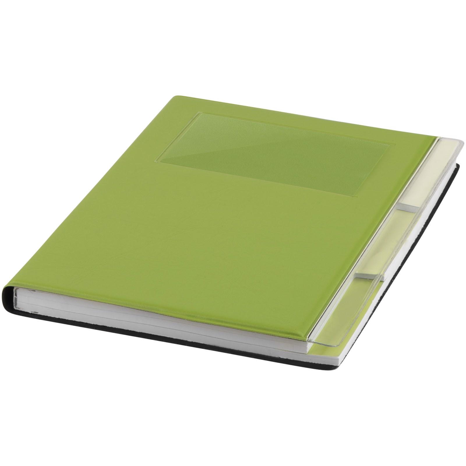 Zápisník s pevnou obálkou A5 Tasker - Limetka
