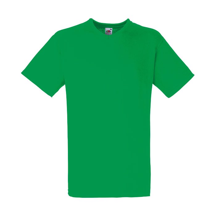 Herren T-Shirt 165 g/m² V-Neck T-Shirt 61-066-0 - Kelly Green / XXL