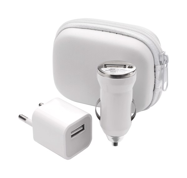 Usb Charger Set Canox - White / White