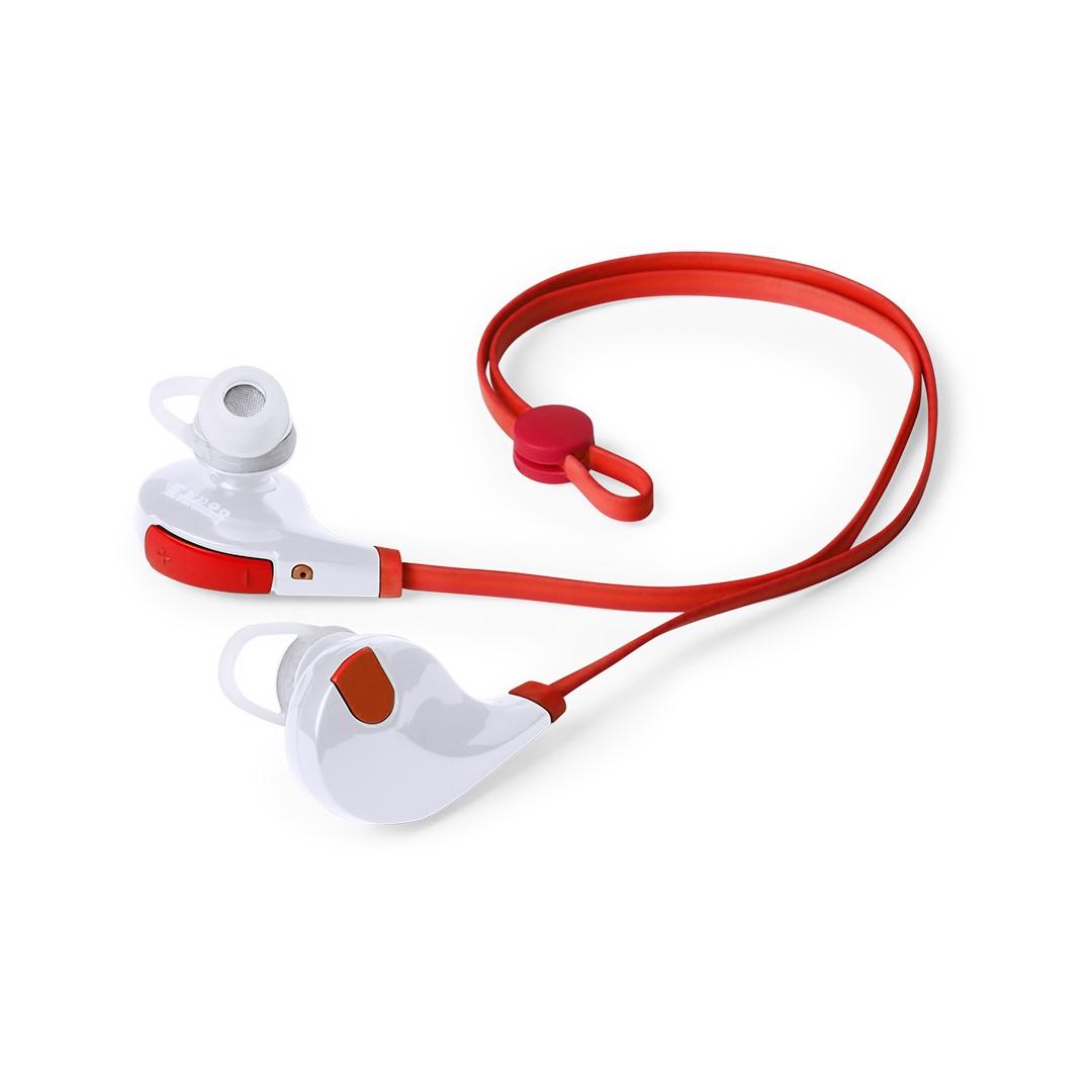 Auriculares Seida - Rojo