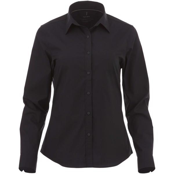 Hamell long sleeve ladies shirt - Solid Black / XL