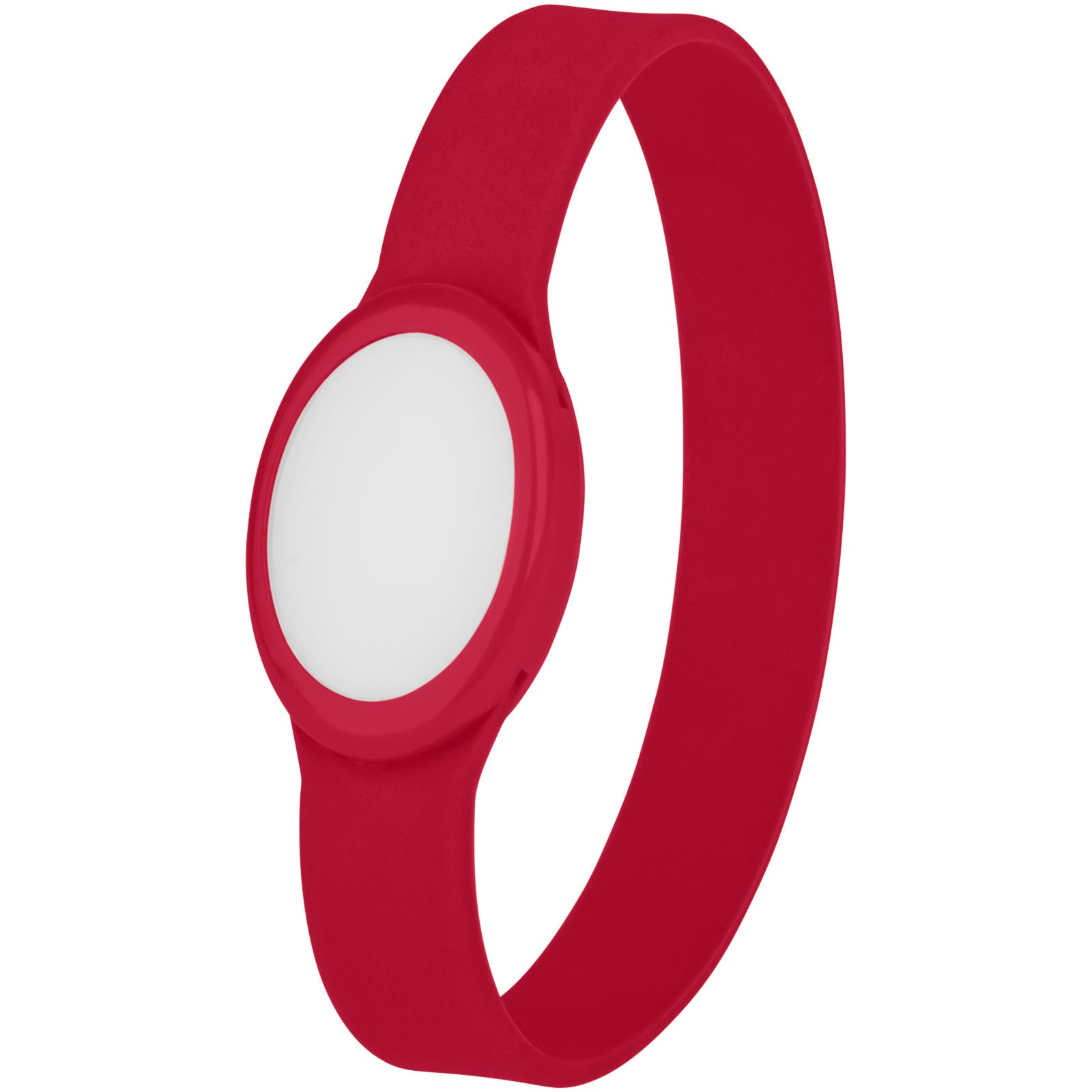 Náramek Tico s barevnými LED - Červená s efektem námrazy