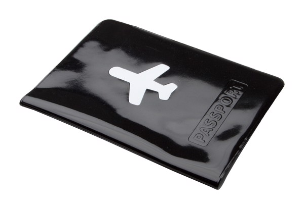 Passport Case Klimba - Black