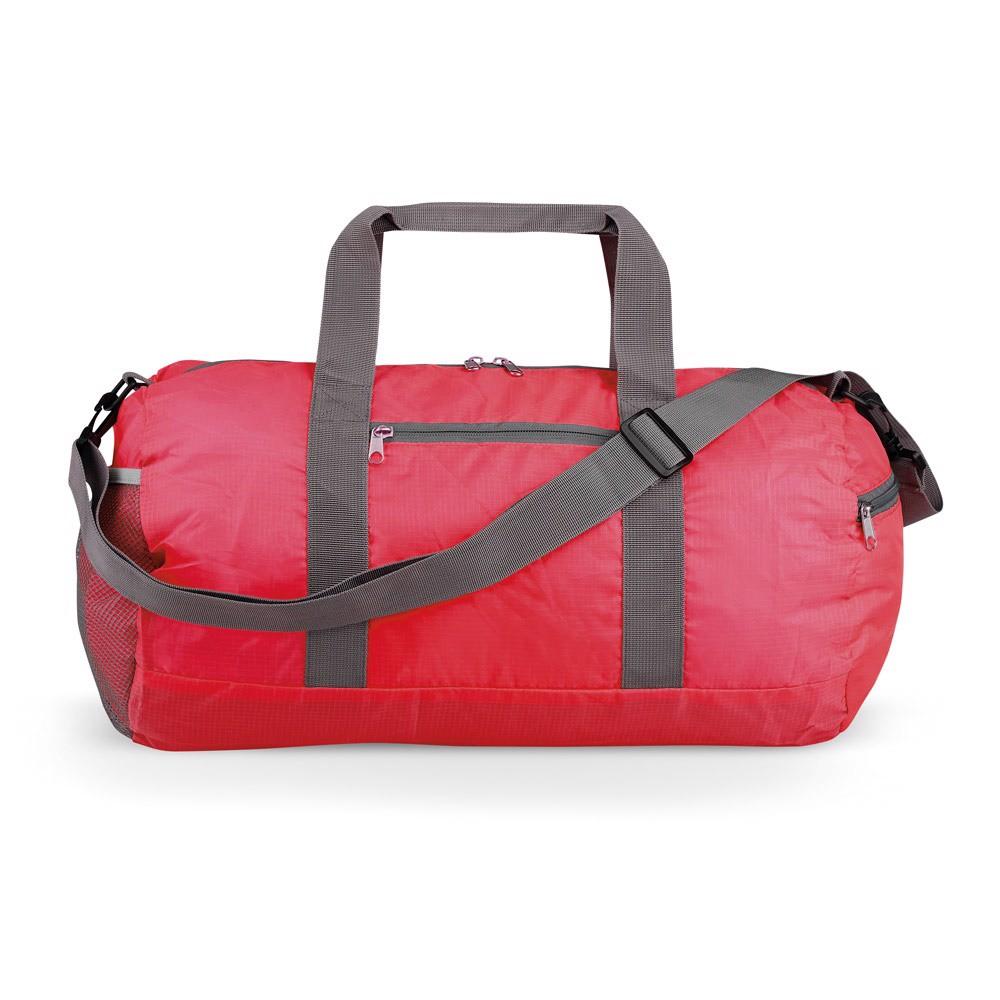JOSIE. Foldable gym bag - Red