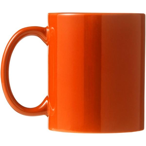 """Taza de cerámica de 330 ml """"Santos"""" - Naranja"""