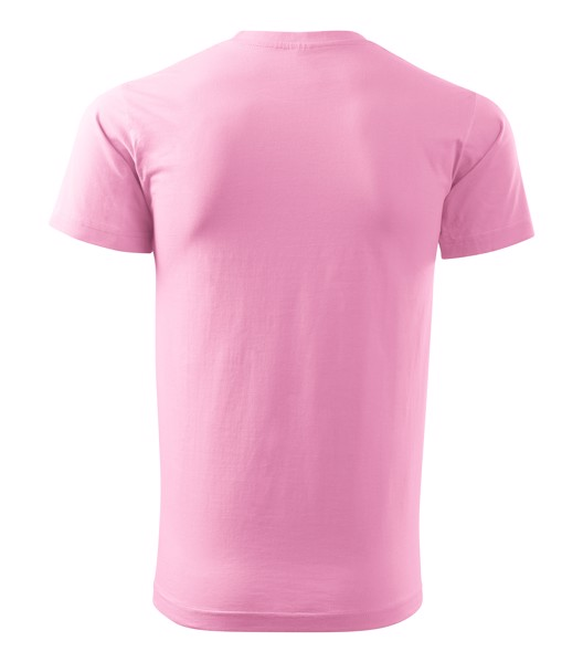 Tričko pánské Malfini Basic - Růžová / S