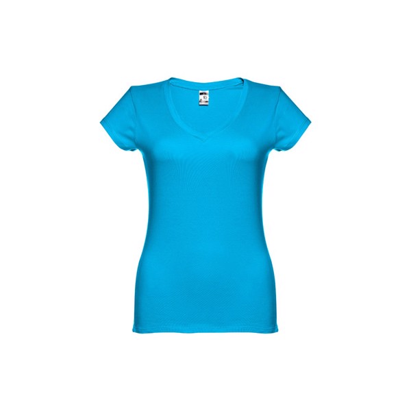 THC ATHENS WOMEN. Women's t-shirt - Acqua Blue / L