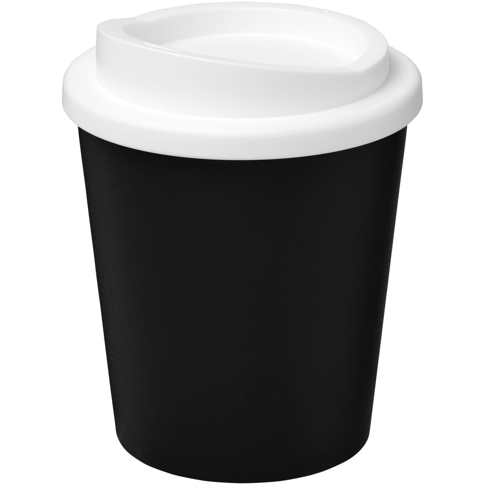 Americano® Vaso térmico Espresso de 250 ml - Negro intenso / Blanco