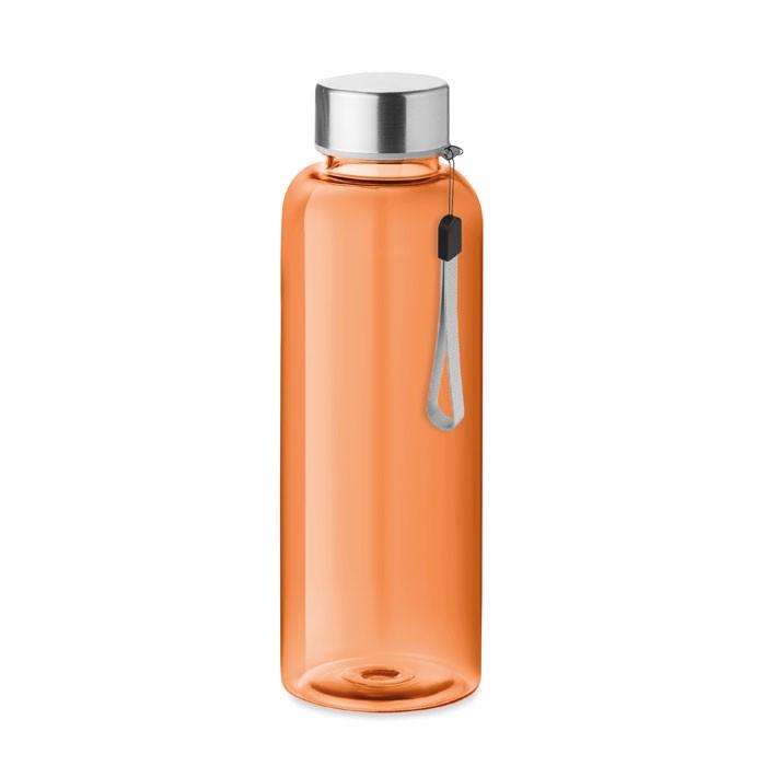 RPET bottle 500ml Utah Rpet - przezroczysty pomarańczowy