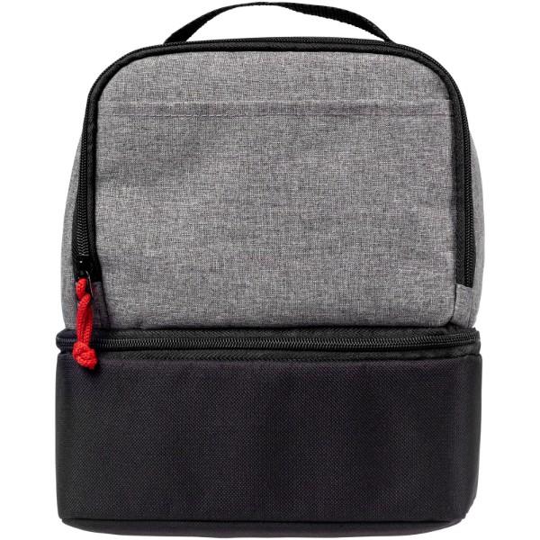 Dual cube cooler bag