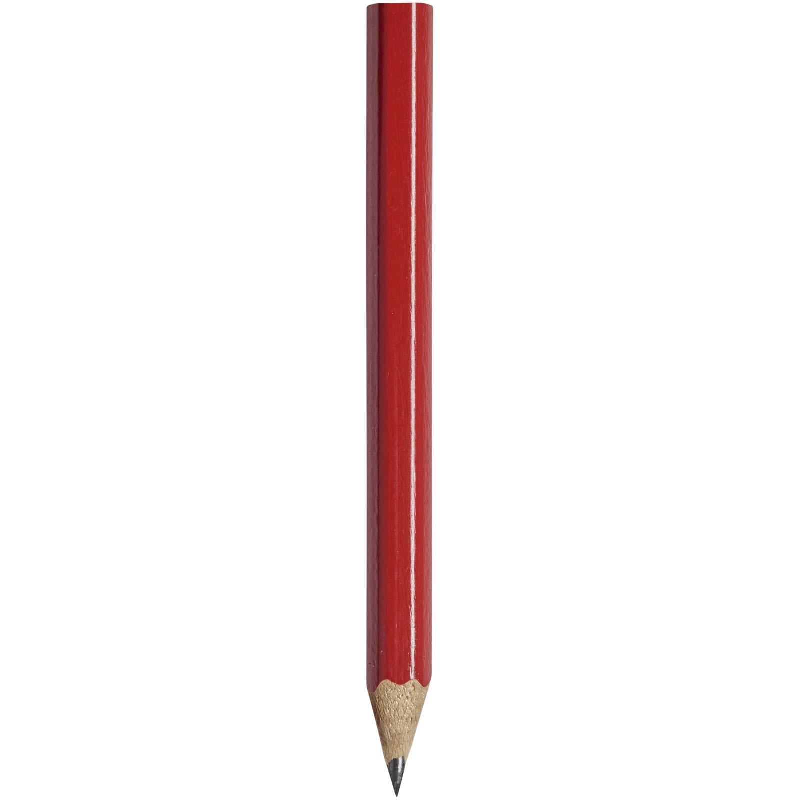 Cosimo Mini Bleistift mit farbigem Schaft - Rot