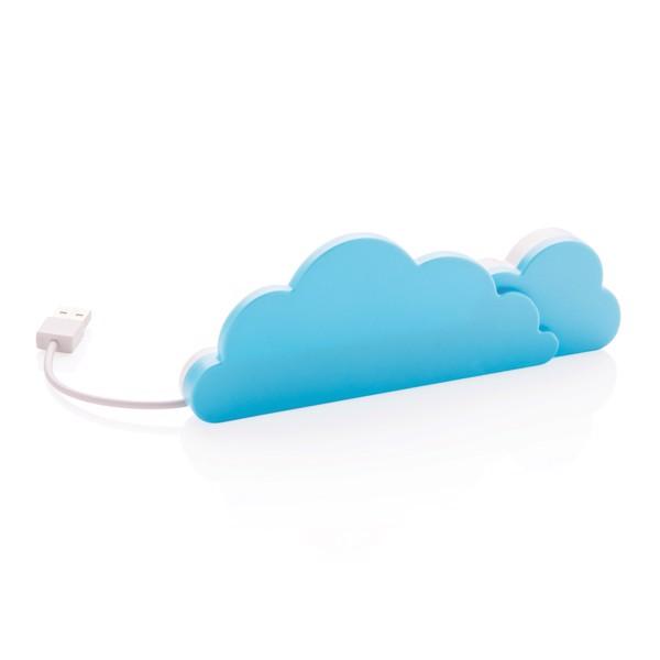 USB rozbočovač ve tvaru mráčku