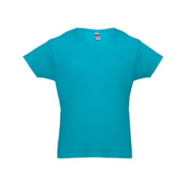 LUANDA. Pánské tričko - Modrá Aqua / XXL