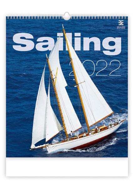 Měsíční kalendář Sailing 2022