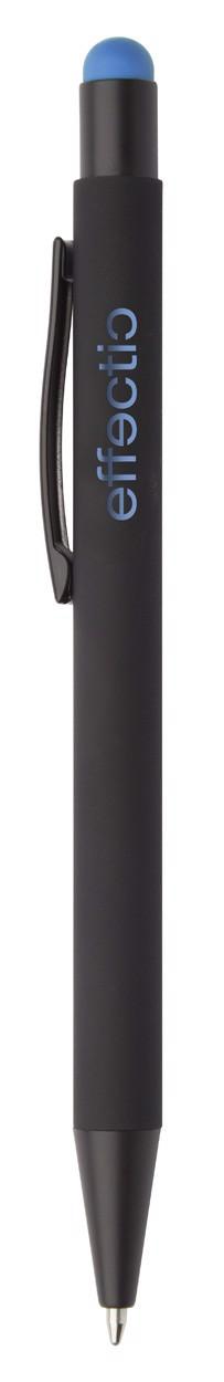 Kuličkové Pero Pearly - Světle Modrá / Černá