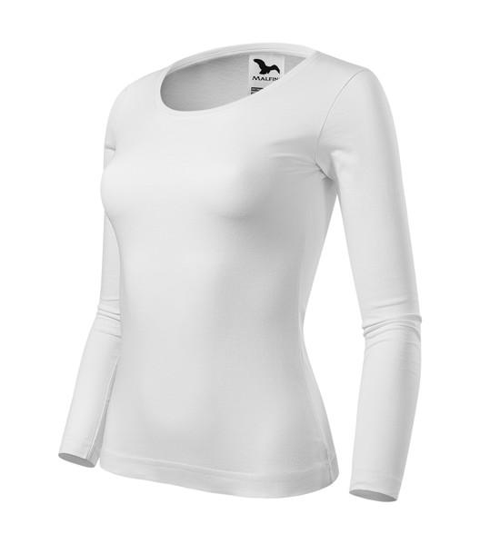 T-shirt Ladies Malfini Fit-T LS - White / M