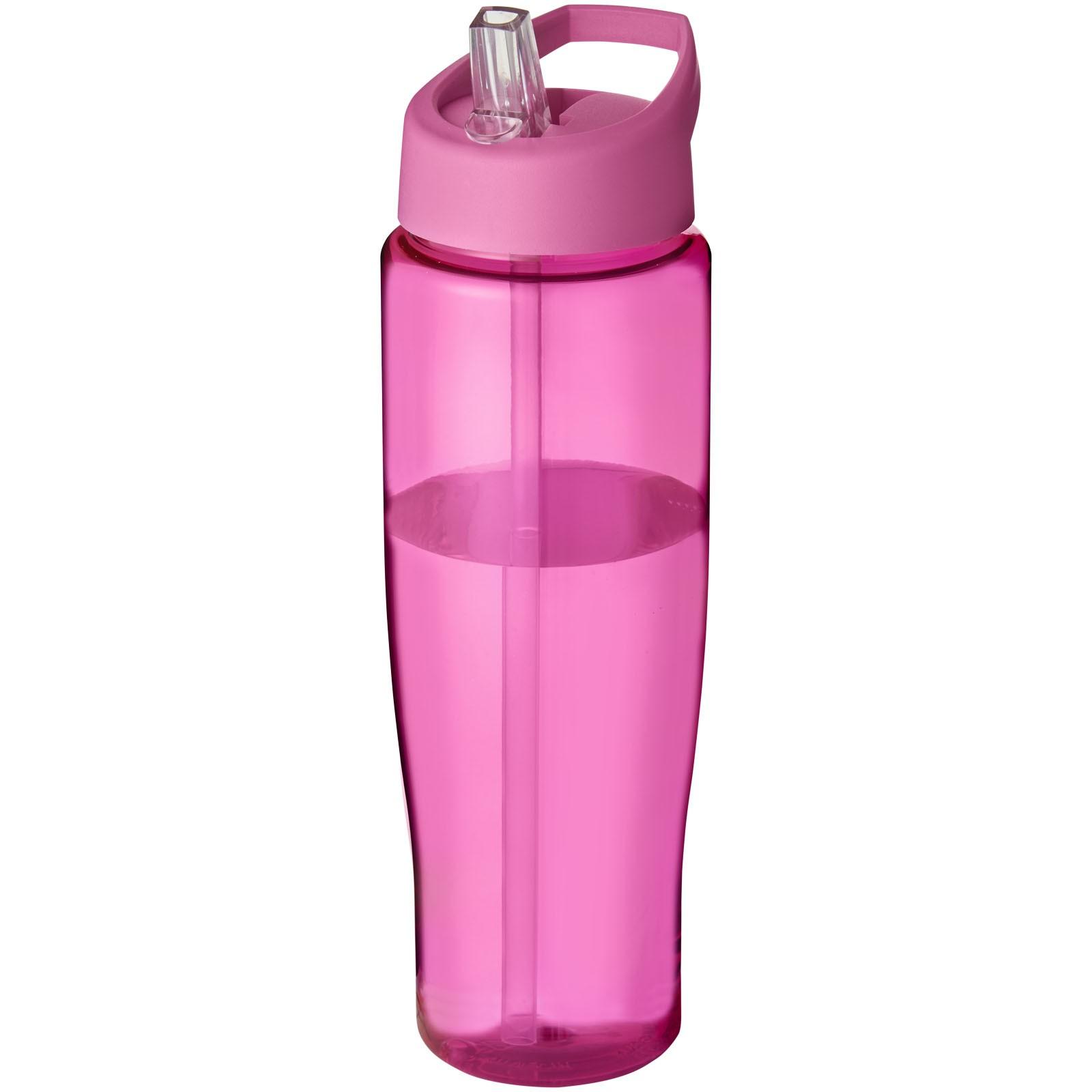 Sportovní láhev s víčkem s hubičkou H2O Tempo® 700 ml - Růžová