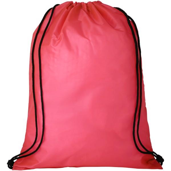Oriole bezpečnostní šňůrkový batoh - Červená s efektem námrazy
