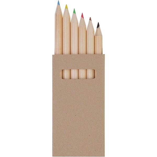 """Set de 6 lápices de colores """"Ayola"""""""