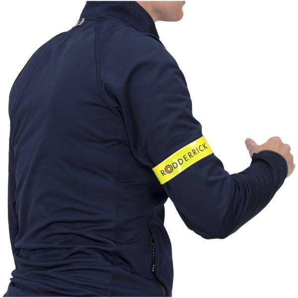 Reflexní samonavíjecí pásek střední - Žlutá