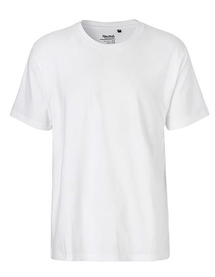 Men`S Classic T-Shirt - White / XL