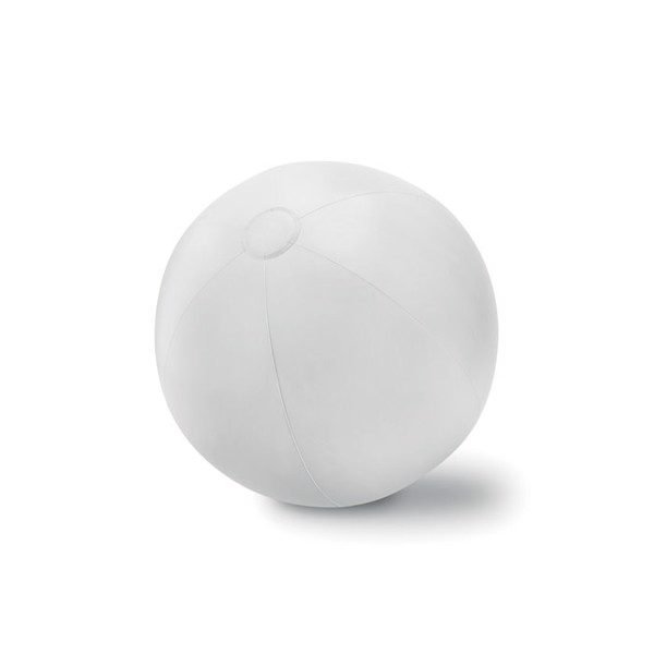 Large Inflatable beach ball Play - White
