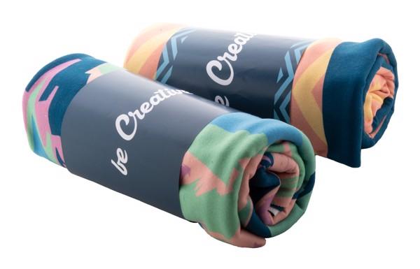 Pătură Fleece Cu Sublimare CreaBlanket - Alb