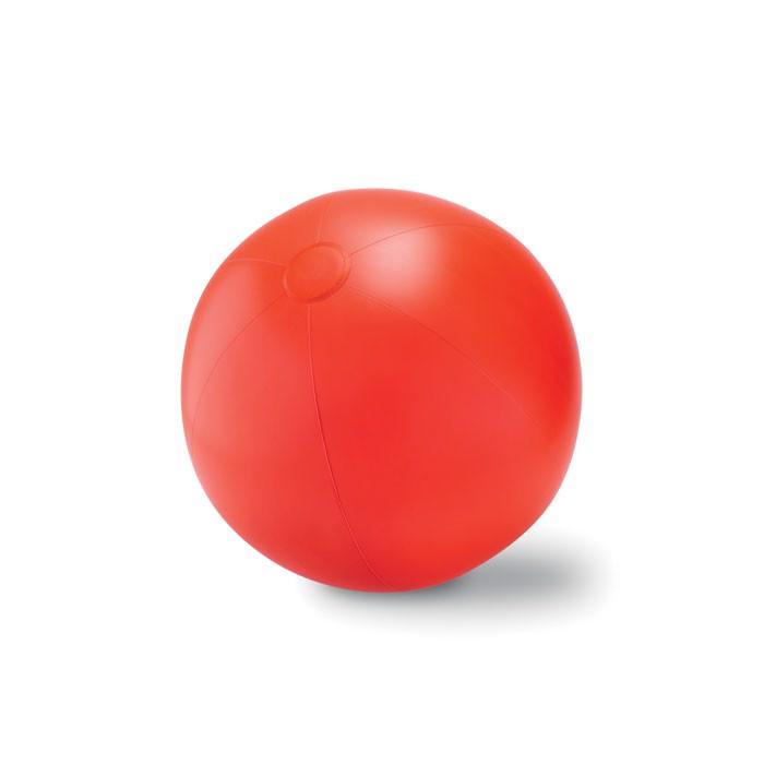 Duża piłka plażowa Play - czerwony