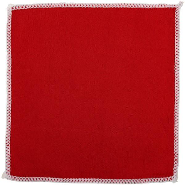 Čistící utěrka na obrazovky - Červená s efektem námrazy