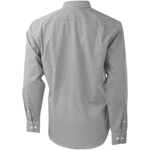 Net long sleeve shirt - Grey / XS