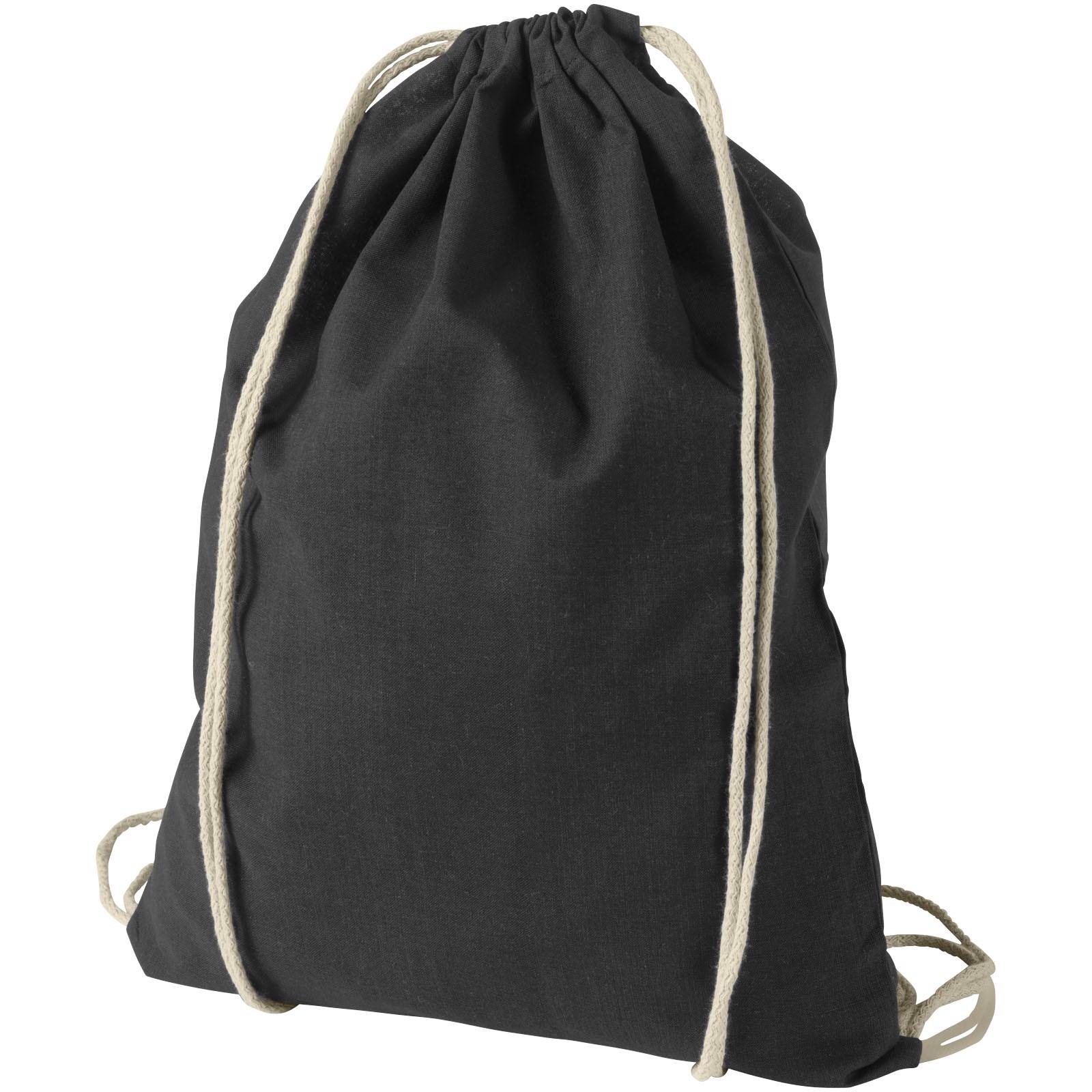 Bavlněný kvalitní batůžek Oregon - Černá