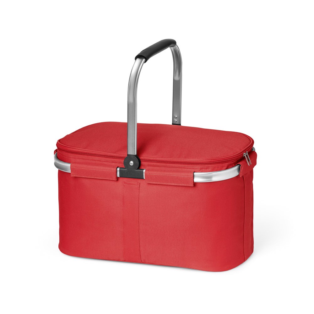 BASKIT. Picnic basket - Red