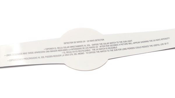 Medidor Rayos UV Rado - Blanco