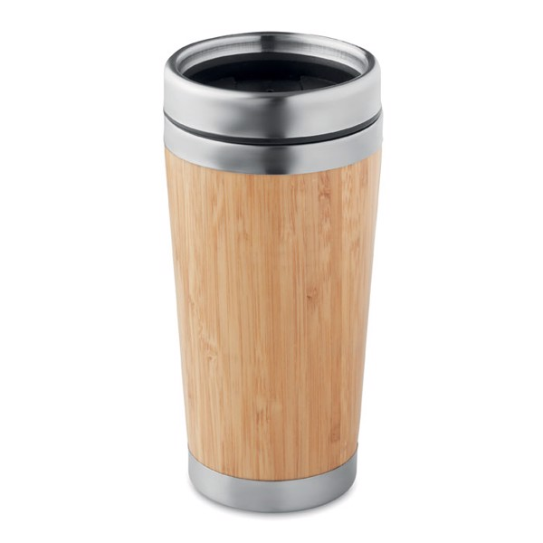 Bamboo double wall travel cup Rodeodrive+