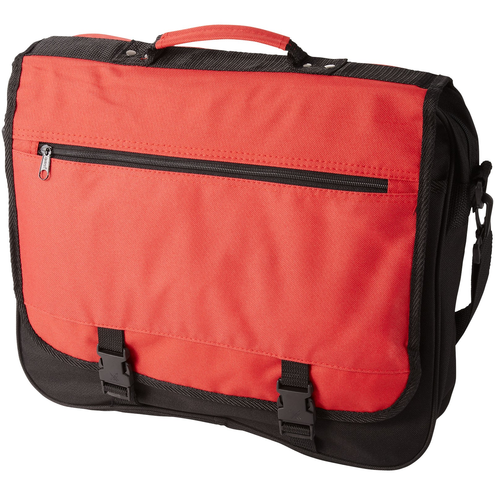 Konferenční taška Anchorage - Červená s efektem námrazy